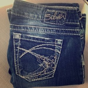 Silver Tuesday Bootcut Jeans Size 28/33L